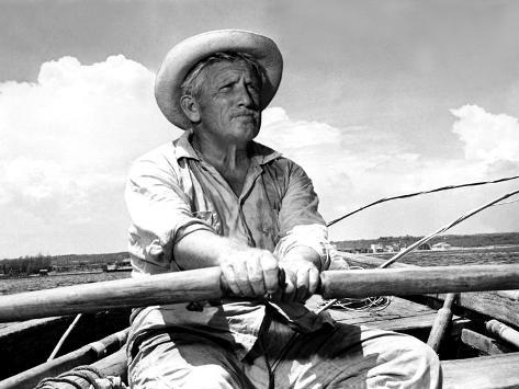 The Old Man And The Sea, Spencer Tracy, 1958 Photographie