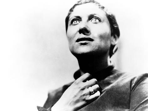 The Passion Of Joan Of Arc, (aka La Passion De Jeanne D'Arc), Maria Falconetti, 1928 Photographie