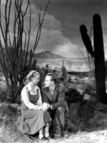 The Petrified Forest, Bette Davis, Leslie Howard, 1936 Photographie