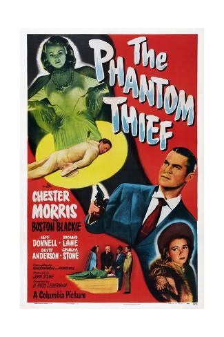 The Phantom Thief Reproduction procédé giclée