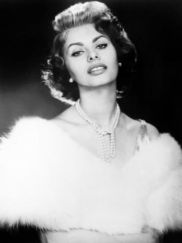 The Pride and the Passion, Sophia Loren, 1957 Photographie