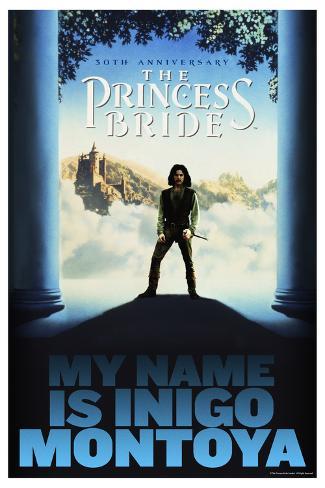 The Princess Bride 30th Anniversary - My Name Is Inigo Montoya Poster