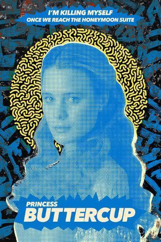 The Princess Bride 30th Anniversary - Princess Buttercup Poster