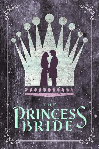 The Princess Bride Crown Reproduction d'art