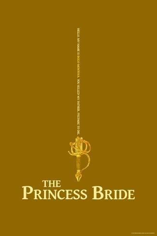 The Princess Bride - Inigo Montoya's Sword Reproduction d'art