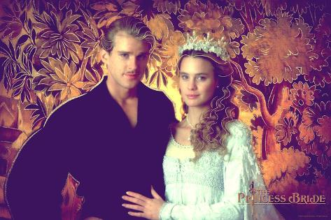The Princess Bride - Westley and Buttercup Reproduction d'art