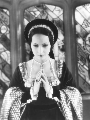 The Private Life of Henry Viii, Merle Oberon as Anne Boleyn, 1933 Photographie