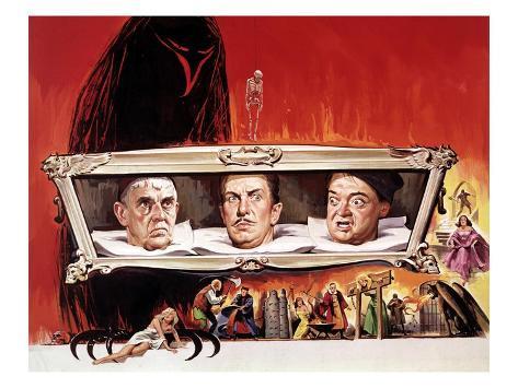 The Raven, Boris Karloff, Vincent Price, Peter Lorre, 1963 Photographie