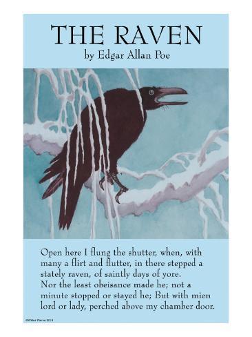 The Raven Reproduction d'art