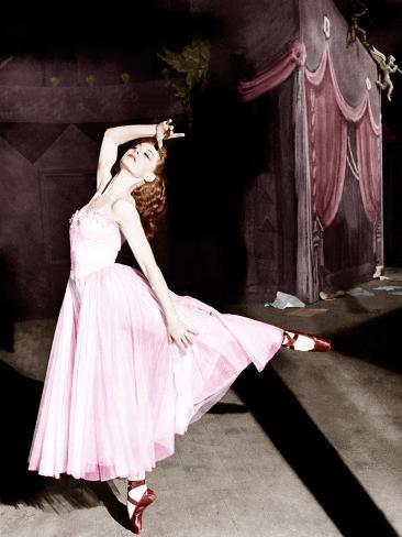 The Red Shoes, Moira Shearer, 1948 Photographie