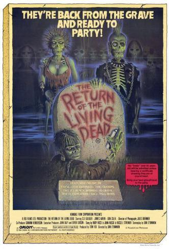 The Return of the Living Dead Affiche originale