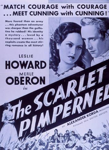 The Scarlet Pimpernel Affiche originale