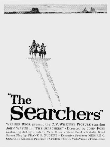 The Searchers, 1956 Reproduction d'art