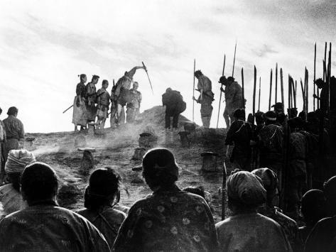 The Seven Samurai, (aka Shichinin No Samurai), 1954 Photographie