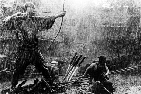 The Seven Samurai, (aka Shichinin No Samurai), Takashi Shimura, 1954 Photographie
