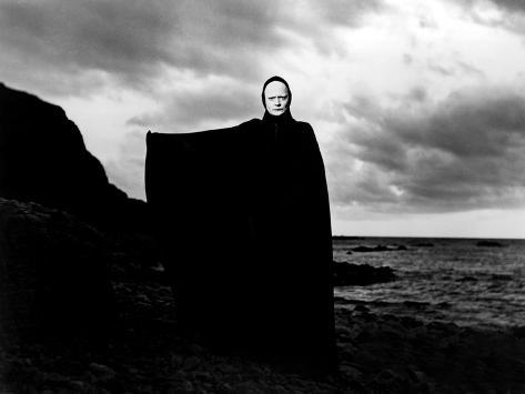 The Seventh Seal, Bengt Ekerot, 1957 Photographie