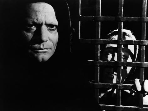 The Seventh Seal, Bengt Ekerot, Max Von Sydow, 1957 Photographie