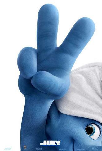 The Smurfs 2 (Neil Patrick Harris, Katy Perry) Movie Poster Affiche originale