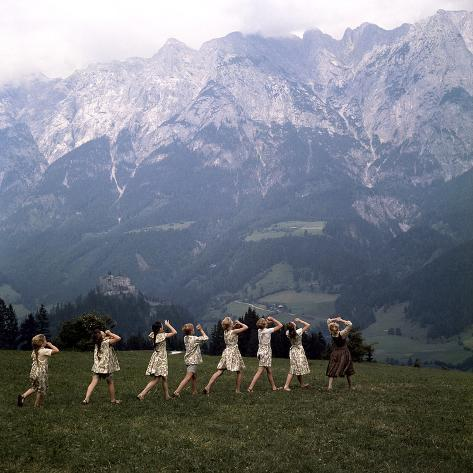 The Sound of Music, 1965 Photographie