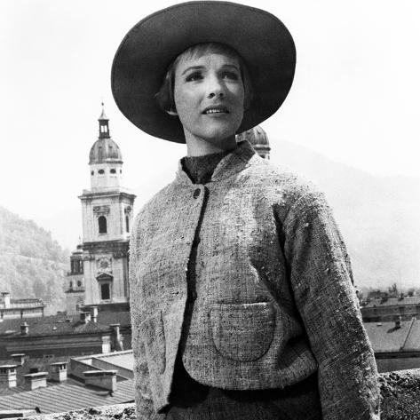 The Sound of Music, Julie Andrews, 1965 Photographie