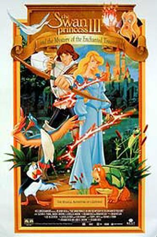 The Swan Princess Affiche originale