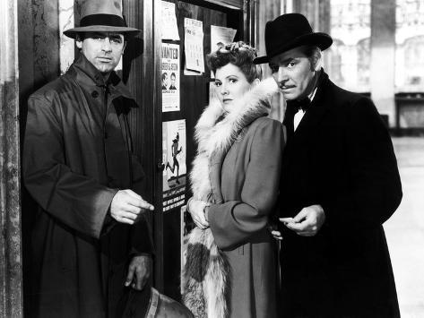 The Talk Of The Town, Cary Grant, Jean Arthur, Ronald Colman, 1942 Photographie