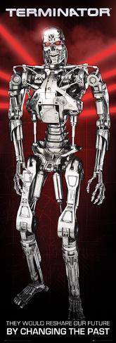 The Terminator: Future Affiche format porte