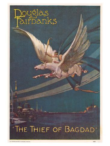 The Thief of Baghdad, 1924 Reproduction giclée Premium