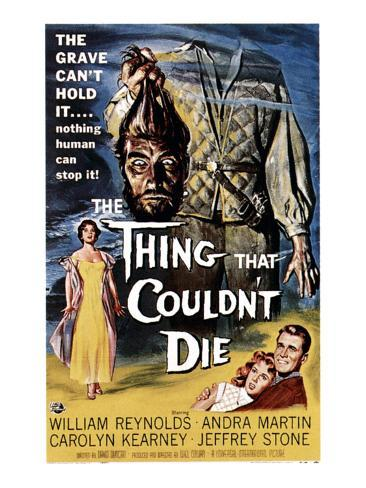 The Thing That Couldn't Die, 1958 Photographie