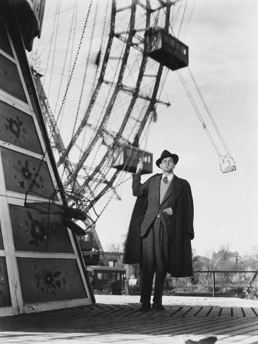 The Third Man, Joseph Cotten, 1949 Photographie