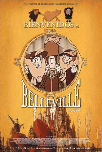 The Triplets of Belleville - Spanish Style Poster