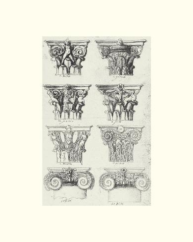 Architecture anglaise v posters par the vintage collection for Architecture anglaise