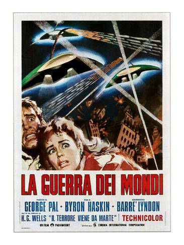 The War of the Worlds (AKA La Guerra Dei Mondi), 1953 Photographie