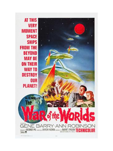 The War of the Worlds, Bottom From Left: Gene Barry, Ann Robinson, 1953 Photographie