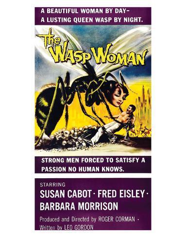 The Wasp Woman - 1959 I Reproduction procédé giclée