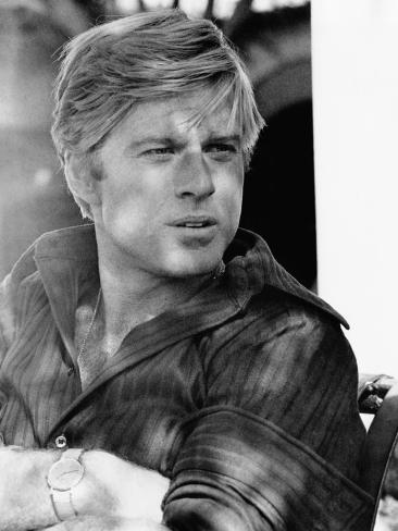 The Way We Were, Robert Redford, 1973 Photographie