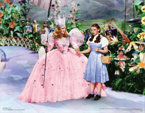 The Wizard of Oz: Glitter Glinda Reproduction d'art