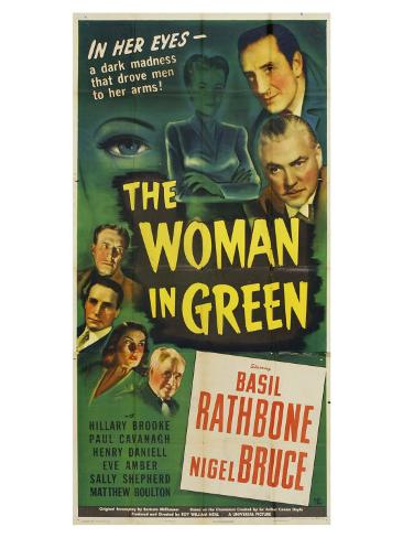 The Woman in Green, 1945 Reproduction giclée Premium