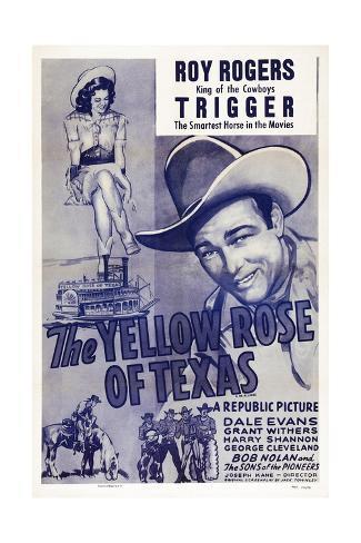 The Yellow Rose of Texas Reproduction procédé giclée