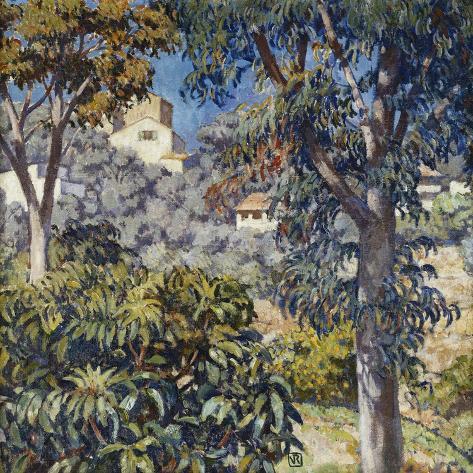 Paysage Du Midi, C.1920-1922 Reproduction procédé giclée