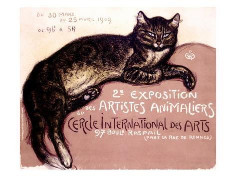 Exposition des artistes animaliers Reproduction procédé giclée