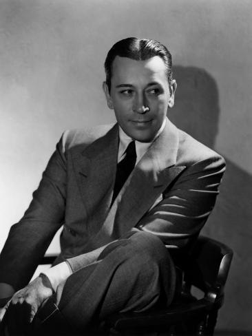 They Drive by Night, George Raft, 1940 Photographie