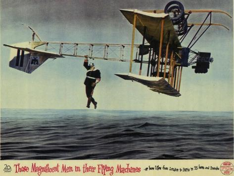 Those Magnificent Men in Their Flying Machines, 1965 Reproduction d'art