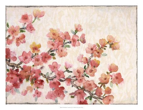 Cherry Blossom Composition II Reproduction d'art