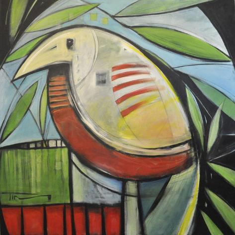 Fancy Bird Reproduction procédé giclée