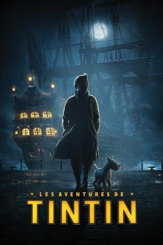 Tintin- Dock Teaser-French Poster