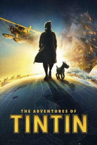 Tintin-Teaser Poster