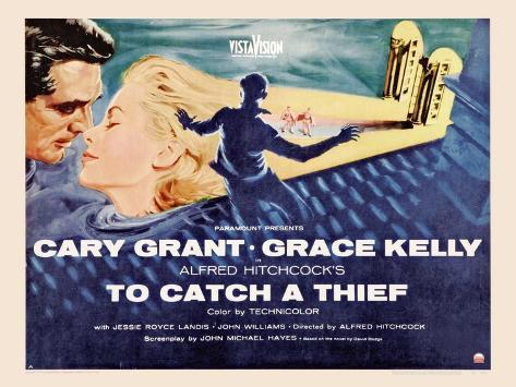 To Catch a Thief, 1955 Reproduction d'art