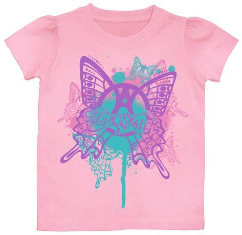 Toddler: Aerosmith - Butterfly T-shirt