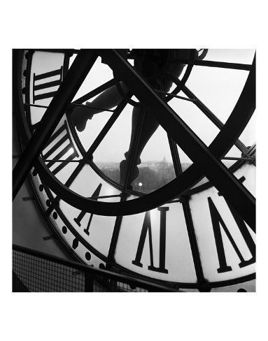 La grande horloge d'Orsay Reproduction d'art